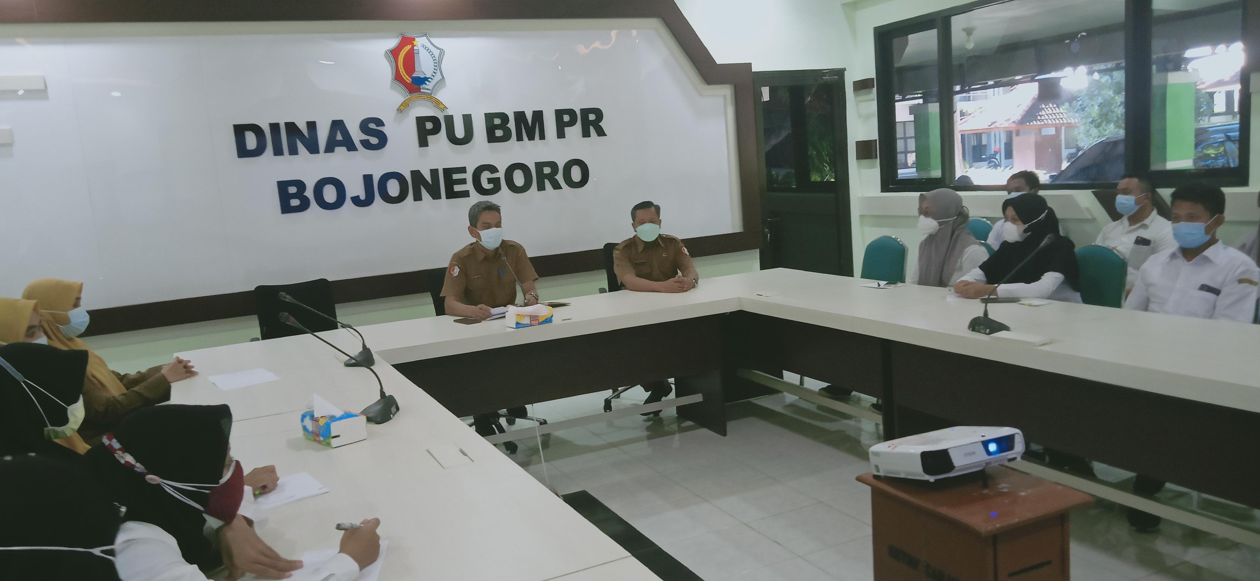 Pembinaan dilaksanakan di Dinas PU Bina Marga dan PR Kabupaten Bojonegoro